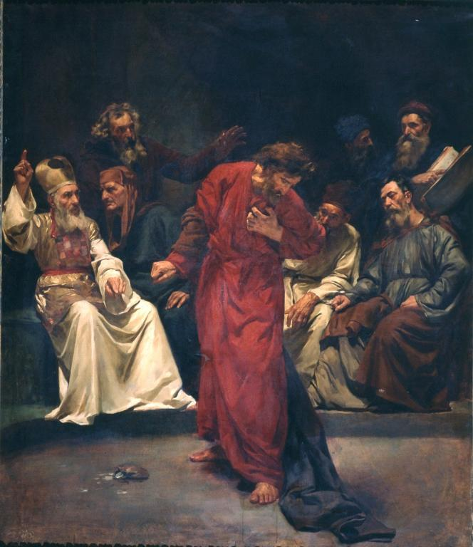 The Repentance of Judas by Simó Gómez