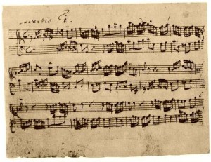 J. S. Bach Invention