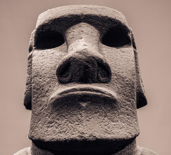 A Moai (source)