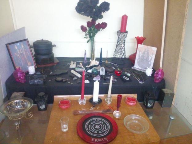 shrine and altar