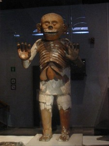 Mictlantecuhuli statue