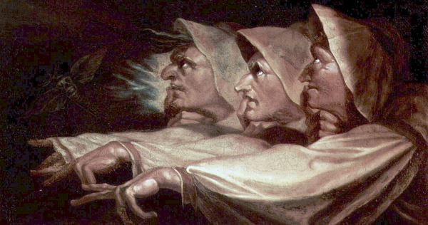 Three witches, crones