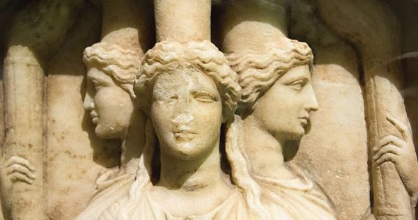 Hekate relief