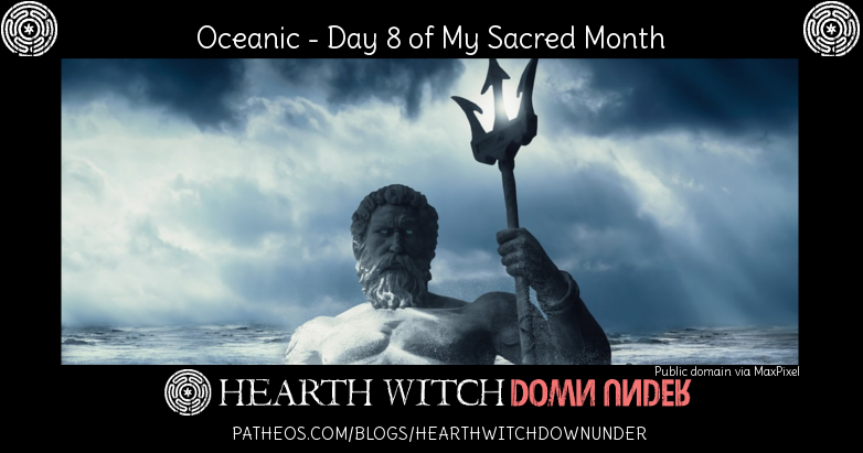 Oceanic ritual and hymns to Hekate Einalian and Poseidon.