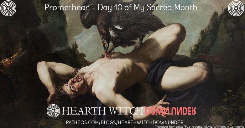 Promethean ritual and hymns to Prometheus, and to Medea and Hekate.