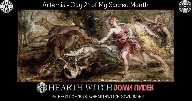 Ritual and hymn to Artemis