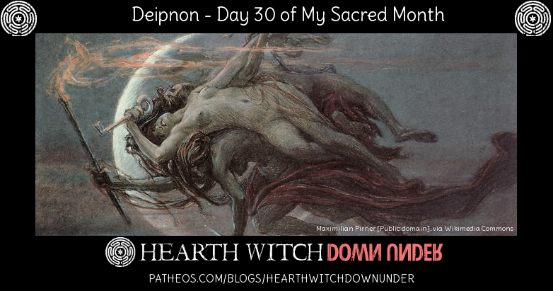 Ritual and hymn to Hekate for Hekates Deipnon on the dark moon.