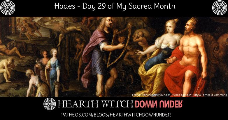 Ritual and hymn to Hades