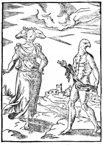 Animal Headed Hekate from Cartari (1571)