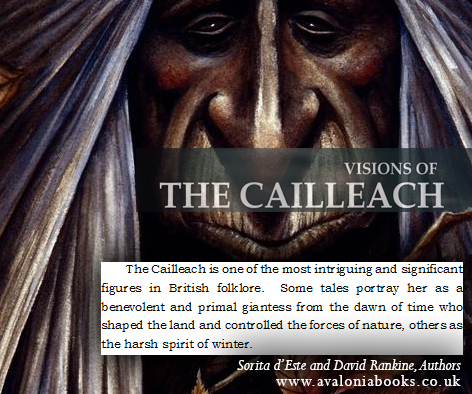 Visions of the Cailleach (2009). Cover art by Marc Potts.