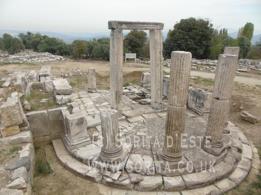 The Temple of the Goddess Hekate, Lagina (Ancient Caria, Anatolia - modern Turkey). A visit in 2015, photograph by Sorita d'Este.