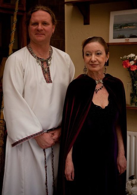 Gavin Bone and Janet Farrar - Priest & Priestess of the Craft, serving the Gods of Wicca and the Pagan Traditions which touch their hearts.