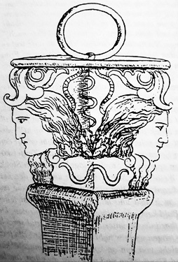 Double headed Ana, Goddess similar to the Goddess Hekate. Goddesses from the Balkans and Asia.
