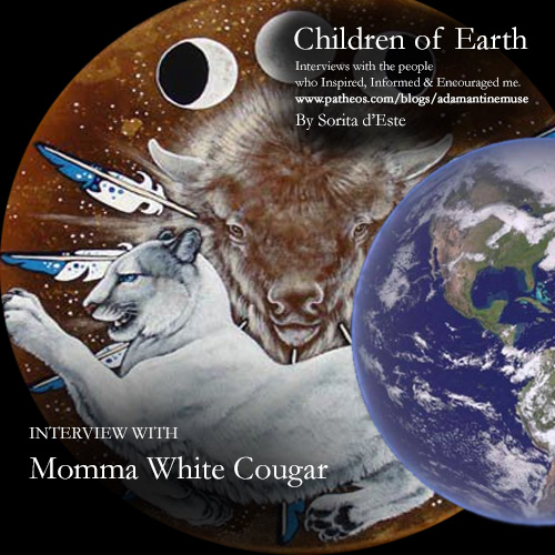 Momma White Cougar interview on Pagan Patheos - Wiccan Wheel of the Year