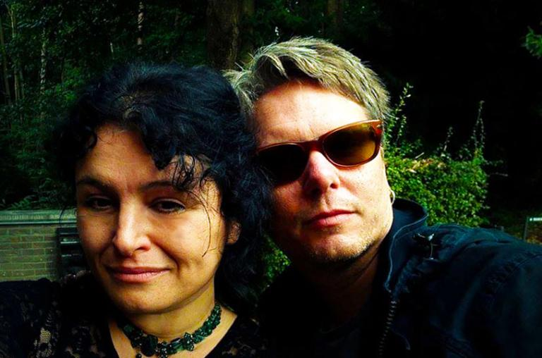 Sorita d'Este and David Beth met at a Pagan Witchcraft event in Belgium PAGE P.A.G.E. in 2016 where they were both presenting.