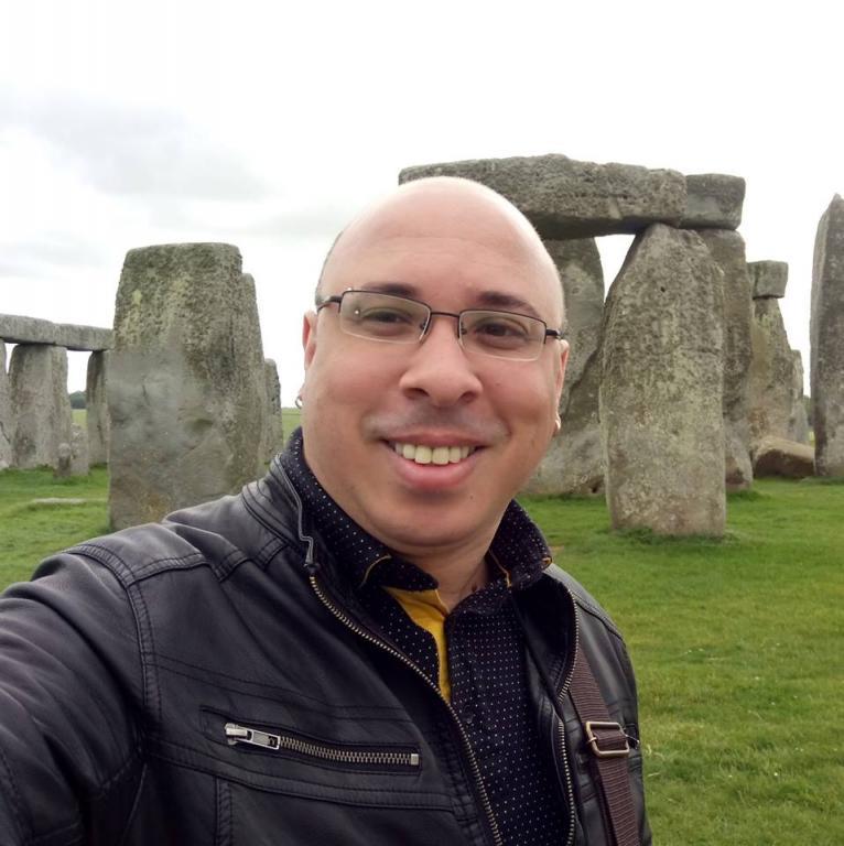 Visiting Stonehenge, the ancient stone circles