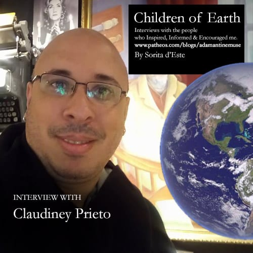 Claudiney Prieto -Ritualist, Priest and Author speaks with Sorita d'Este about Wicca and Pagan Religion