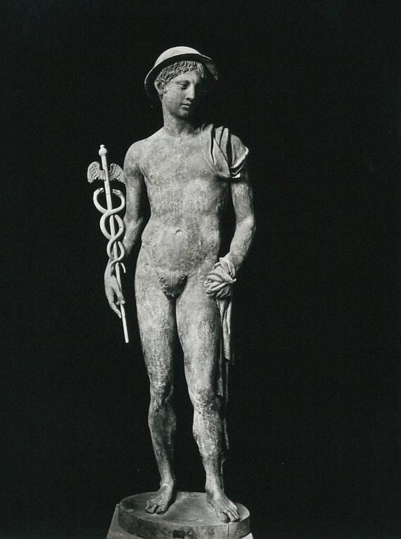 Mercury (Hermes). Photograph by Alinari. Credit: Wellcome Collection. CC BY
