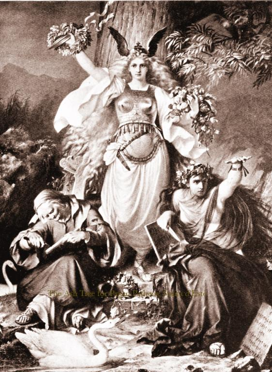 The Ash tree in Norse Mythology - the World Ash Tree.