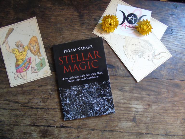 Stellar Magic by Payam Nabarz (Book Cover)