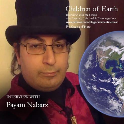 Author of books on Anahita, Mithras, Wicca & Paganism - Payam Nabarz