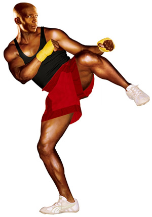 """Focus, you gotta Focus!"" -My hero, Billy Blanks"