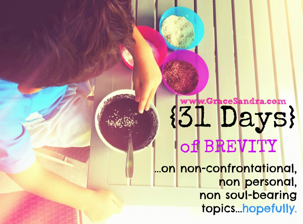 31 DAYS of brevity