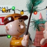 Charlie Brown Christmas toy scene