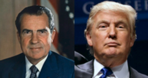 Nixon and Trump resized
