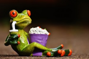 Popcorn frog