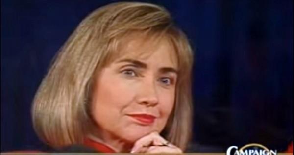 Screenshot of YouTube video of the 1992 debate on CSPAN.