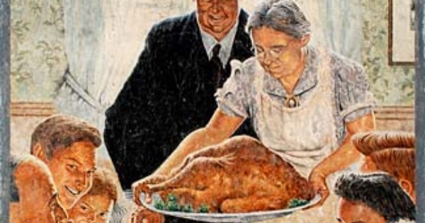 Norman Rockwell Thanksgiving cropped