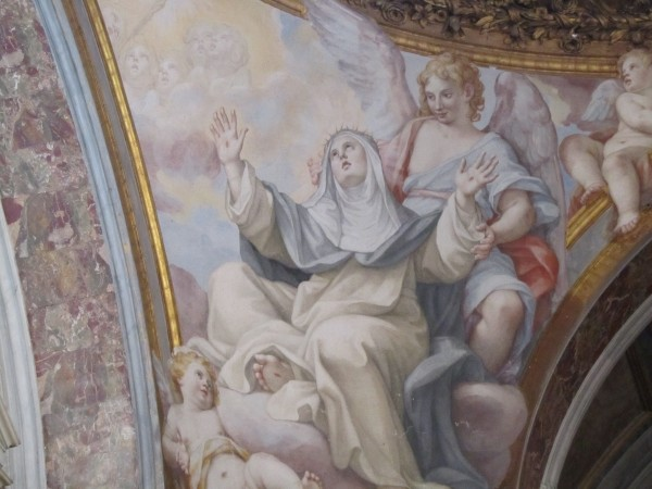 St. Catherine of Siena, Doctor of the Church, Santa Sabina Basilica, Rome/Elizabeth Scalia