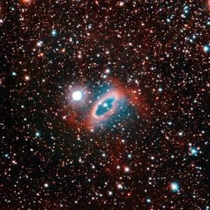 White Dwarf Lost in Planetary Nebula, via Hubble/NASA