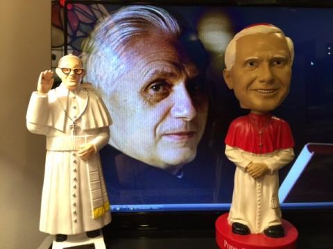I take my popes very seriously.