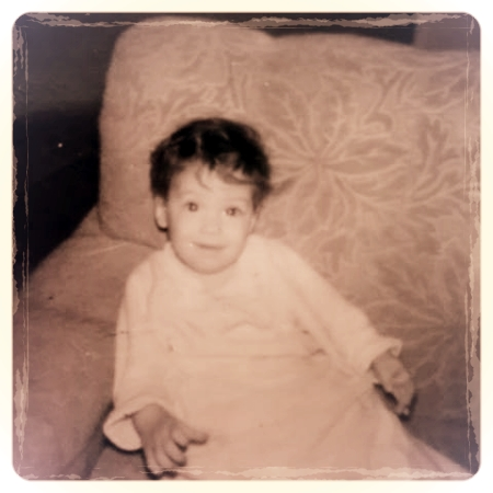 Me, at 6 months, with my giant peasant hands.