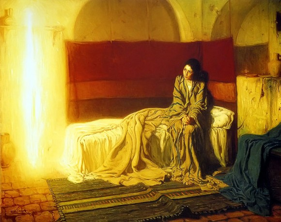 The Annunciation, Henry Ossawa Tanner/PublicDomain via Wikimediacommons