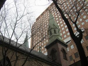 Oratory church outside