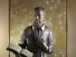 St Philip Neri Statue Brooklyn Oratory