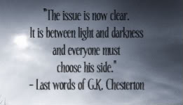 chesterton last words