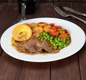 shutterstock roast beef dinner by photoed