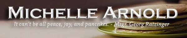 peace joy pancakes banner