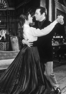 Julie Andrews and Rex Harrison as Eliza and Henry/Public Domain