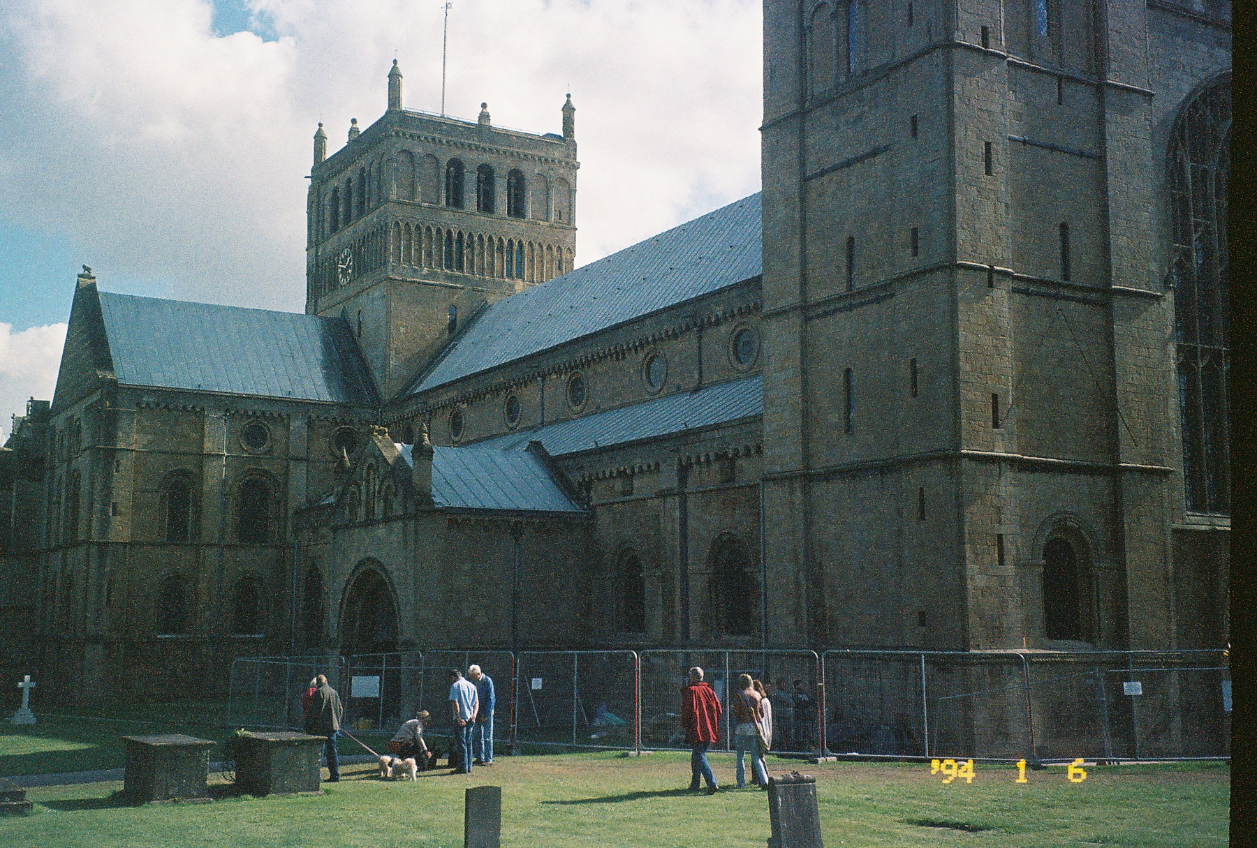 Picture of Southwell Minster. Taken by my mom.