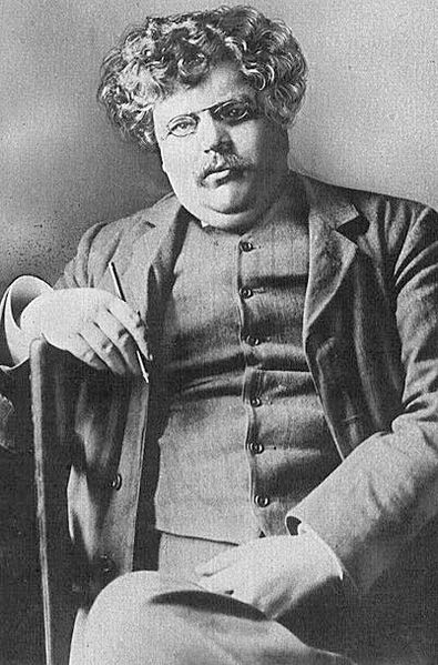Writer G. K. Chesterton Date1914 Source	Current History of the War. v.I (December 1914). New York: New York Times Company. Via http://www.lib.utexas.edu/photodraw/portraits/ Author	Unknownwikidata:Q4233718 Permission PD-US