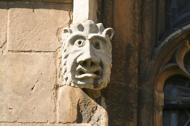 Description English: Medieval Gromit. Not quite such an obvious likeness as 839091 but the juxtaposition on this window 839088 is incontrovertible proof! Date9 June 2008 SourceFrom geograph.org.uk AuthorAlan Murray-Rust (CC BY-SA 2.0)