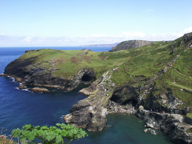 Description: Merlin's Cave, Tintagel. According to legend, this is Merlin's Cave (the one on the right I believe). Date20 August 2002 Source From geograph.org.uk Author andy (CC BY-SA 2.0)