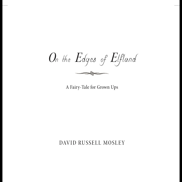 A screenshot of my title page.
