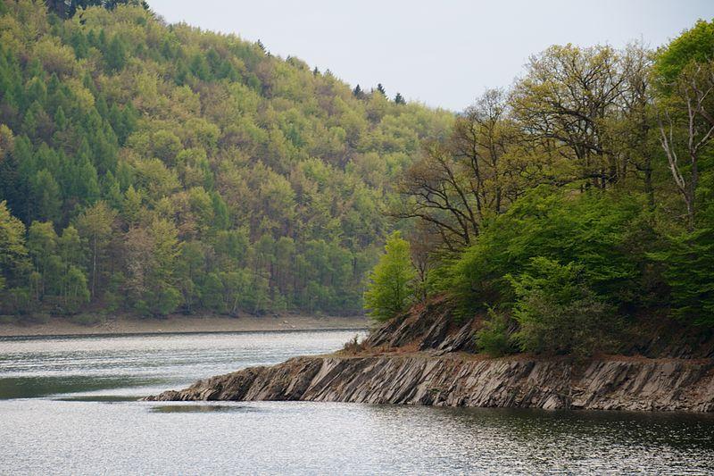 Description Deutsch: Nationalpark Eifel, Rursee Date 22 May 2014, 23:14:09 Source Own work Author Sjokolade (CC BY-SA 3.0)