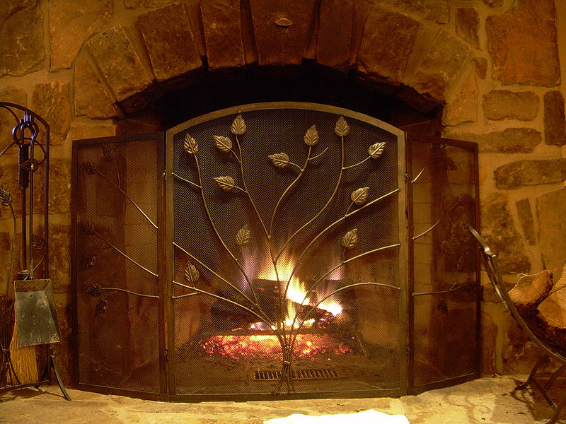 Description English: Photo of a stone fireplace. Date10 December 2007 SourceOwn work AuthorErgoSum88 Public Domain
